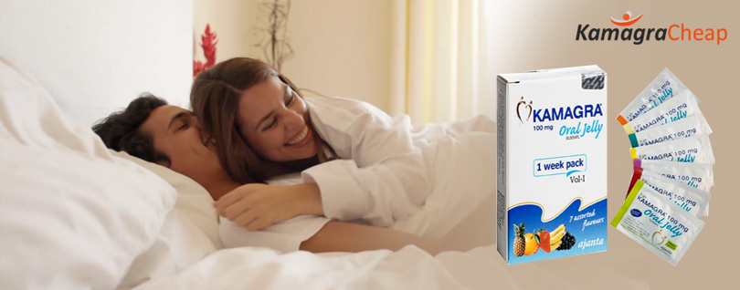 Kamagra Oral Jelly Offers Easy-to-Swallow ED Relief